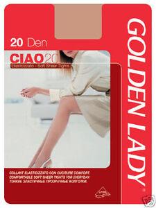 buy popular e8ebe 497cc Details about Stockings Tights Golden Lady Hi 20 den- show original title