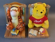 Disney Winnie the Pooh and Tigger Bookends with Books