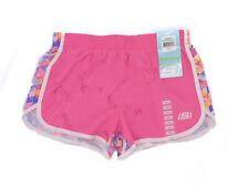 Pink Glow Size 10//12 SKECHER Girls Active Shorts Diagonal Stripes