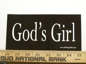 Christian-Bumper-Sticker-Religious-Decal-Gods-Girl
