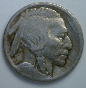1914-S-Buffalo-Nickel-5-cents-US-United-States-Coin-GOOD