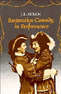 Restoration-Comedy-in-Performance-J-L-Styan-Used-Good-Book