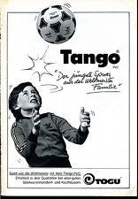 TOGU-- Tango Fussball --Der jüngste Spross--Werbung von 1979--