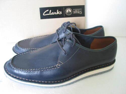 8 G cuero cordones hombre zapatos Edge tamaño marino para Clarks 11 10 de Maxim de 9 azul xfaU7cqw
