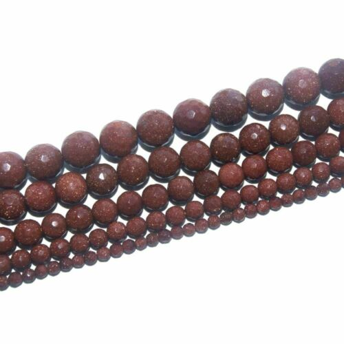 Assorted Faceted Natural Stone Bead For Jewelry Making Bracelet 4//6//8//10//12 MM