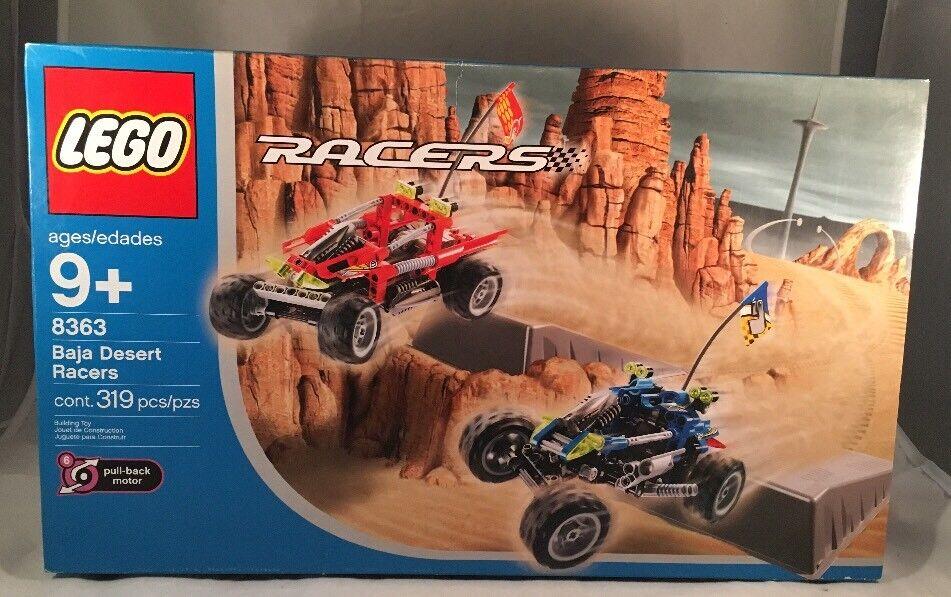 Sealed Lego Racers 8363 Baja Desert Racers Slight Box Wear