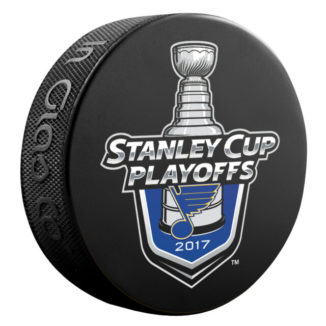 2017 NHL St Louis Blues Stanley Cup Playoffs Commemorative Hockey Puck