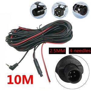 10M-Car-DVR-Rear-View-Backup-Camera-Extension-Cable-4-Pin-Dash-Cam