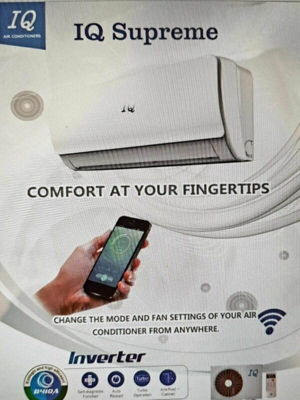 INVERTER AIR CONDITIONERS  WIFI