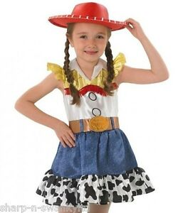 Girls Disney Jessie Toy Story Cowgirl Book Day Fancy Dress Costume ... ce4c23bbe87