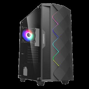 GameMax-ATX-Mid-Tower-A361-Gaming-PC-Desktop-Computer-Case-w-RGB-LED-Fan