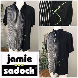 Jamie-Sadock-Women-039-s-Short-Sleeve-Golf-Top-L