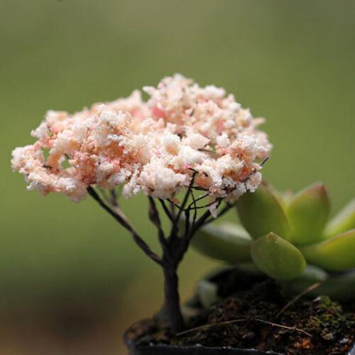 Trees for Miniature Fairy Garden Ornament Dollhouse Plant Pot Figurine DIY nPTH
