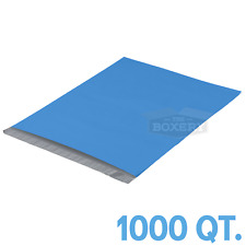 1000 10x13 Blue Poly Mailers Envelopes Bags 25mil From The Boxery