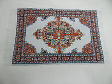 "6/""x9/"" #62 KK Heidi Ott  Dollhouse Miniature 1:12 Scale Floor Carpet   Woven Rug"