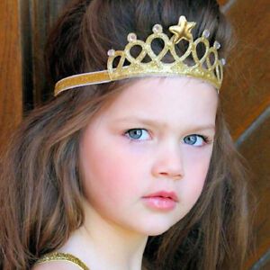 Fairy Princess Queen Tiara Crown Silver Gold Pink Dress Up Accessory Party
