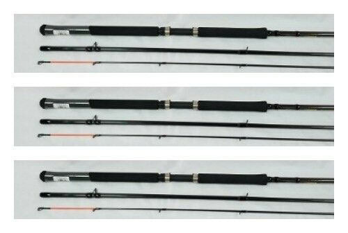 3ea HT PANFISH SPECIAL TROLLING  RODS 16' HTPSTM16-3 CRAPPIE POLE  3pc GRAPHITE  leisure