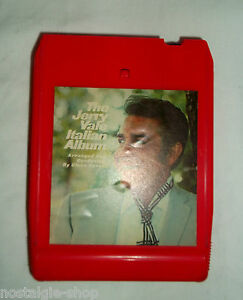 8-Traccia-Stereo-Tape-The-Jerry-Vale-Italiano-Album-Musica-music-Vintage-rara