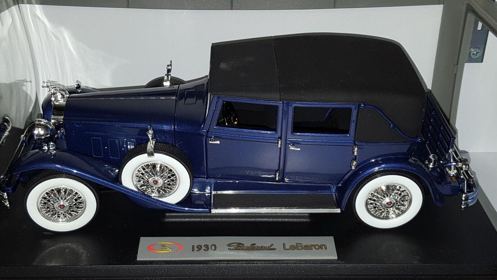 1 18 modelos de firma 1930 Packard Edición Limitada blu Barón D