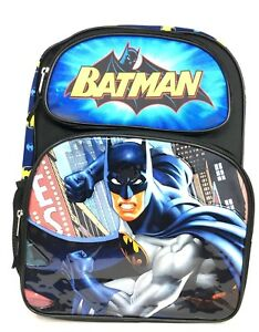 9f0377591586 Image is loading DC-Batman-16-034-Large-School-Backpack-Book-
