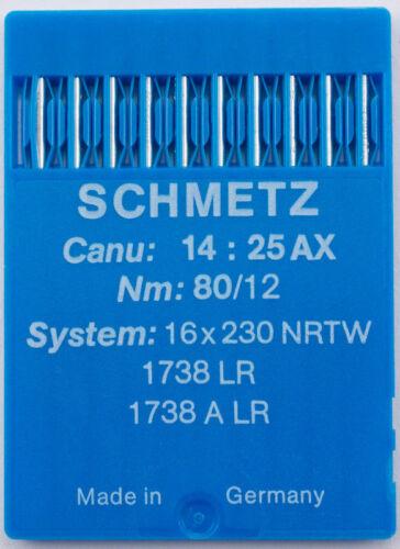 Schmetz Rundkolbennadeln 16x230 NRTW Stärke 110