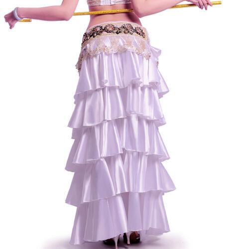 C239 elegante danza del ventre gonna con spacco TRIBAL Fusion Belly Dance