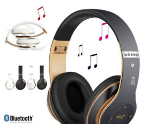 Wireless Headphones Stereo Bluetooth with Microphone for Tablet PC TV Mobile