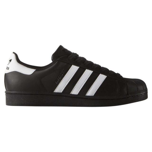 Hombre Adidas Originals Superstar Foundation deportivas negro 44 23