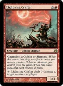 Lightning-Crafter-Morningtide-MP-English-MTG-Magic-FLAT-RATE-SHIP