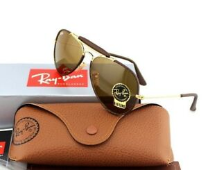 7bb7d29591 NEW RAY-BAN Aviators Outdoorsman Craft B-15 Glass Lens Sunglasses RB ...
