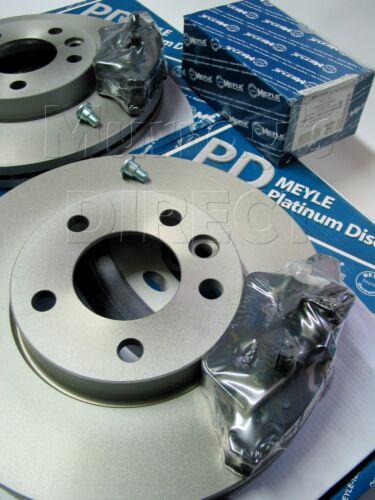 MEYLE Platinum Front Coated Discs & Brake Pads VW T5 Transporter Van 309mm 04-14