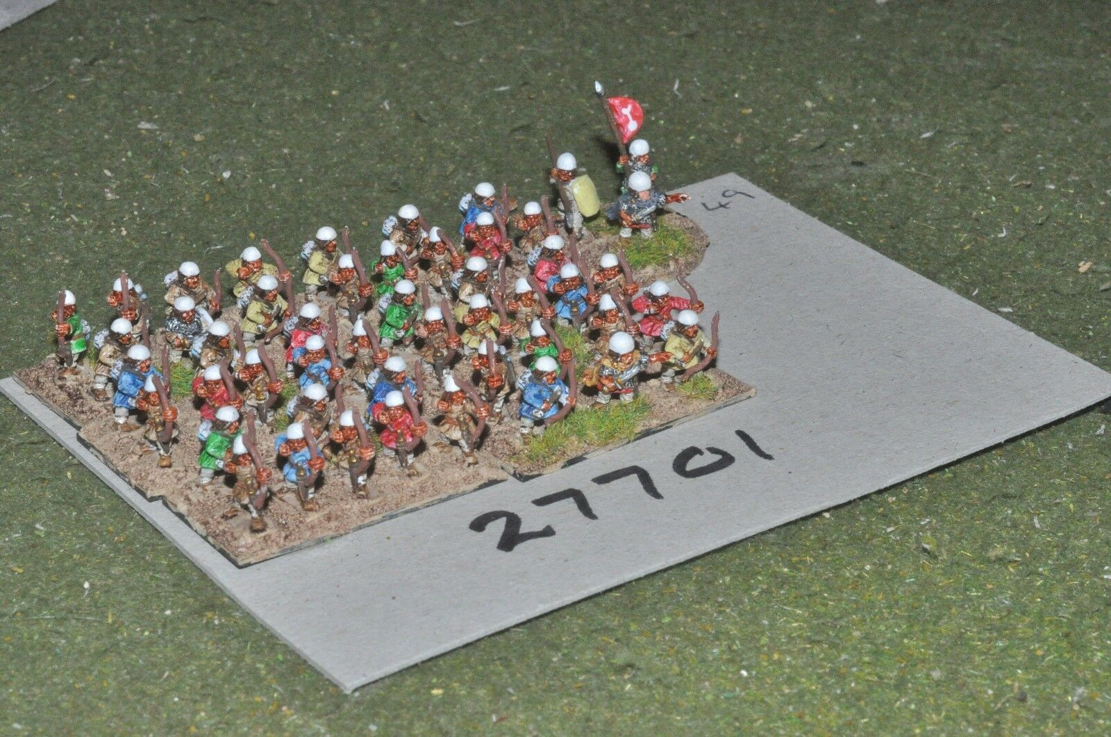 10mm roman era   sassanid - archers 48 figures - inf (27701)