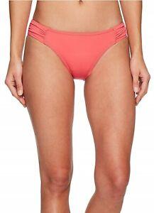 Tommy Bahama Women's Pearl Side-Shirred Hipster Bikini Bottom Sz. S 149468
