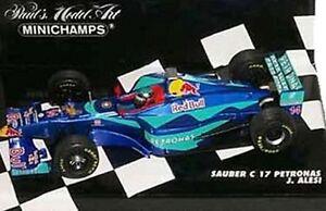 Minichamps-020107-020108-980014-990012-Sauber-F1-coche-modelo-1998-9-amp-2002-1-43-rd