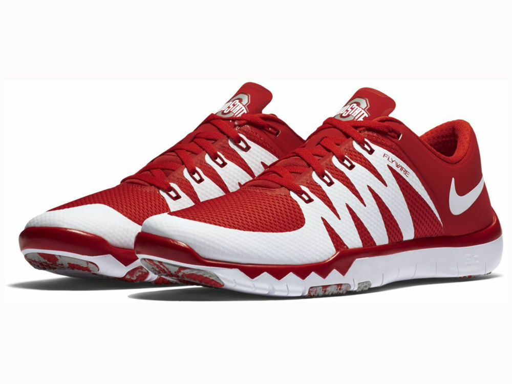 NEW COLOR   Nike Free Trainer V6 5.0 Ohio State Buckeyes OSU Mens Sizes