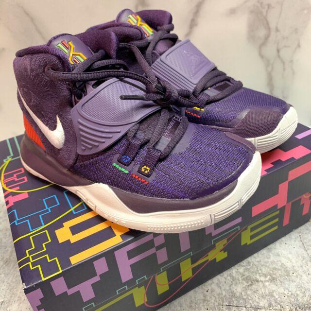 Basketball Shoes Purple Multi-Color