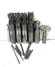 Solid Carbide End Mill Lot Used 34 14 Amp Other Sizes