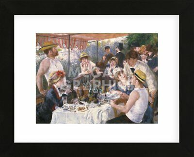 Renoir 10x8 In Art Print LUNCHEON OF THE BOATING PARTY