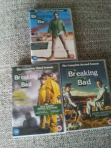 Breaking Bad complete Seasons 1 2 and 3 Boxset 13 very good condition - <span itemprop='availableAtOrFrom'>Bolton, United Kingdom</span> - Breaking Bad complete Seasons 1 2 and 3 Boxset 13 very good condition - Bolton, United Kingdom