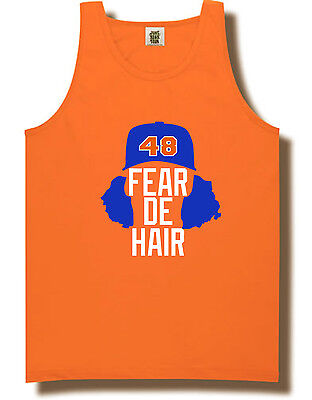 "Jacob DeGrom New York Mets /""Fear De Hair/"" jersey Hooded SWEATSHIRT HOODIE"
