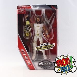 SETH-ROLLINS-Elite-45-WWE-Mattel-Action-Figure-Toy-In-Stock-On-Hand-Brand-New