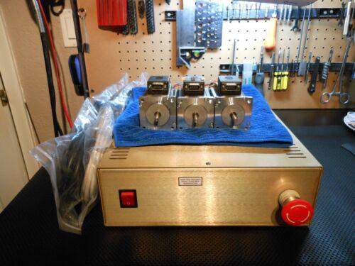 Gecko G540 CNC Motion Control System 48v 12.5a /& 3 Nema 23 300oz in 3.5A Motors