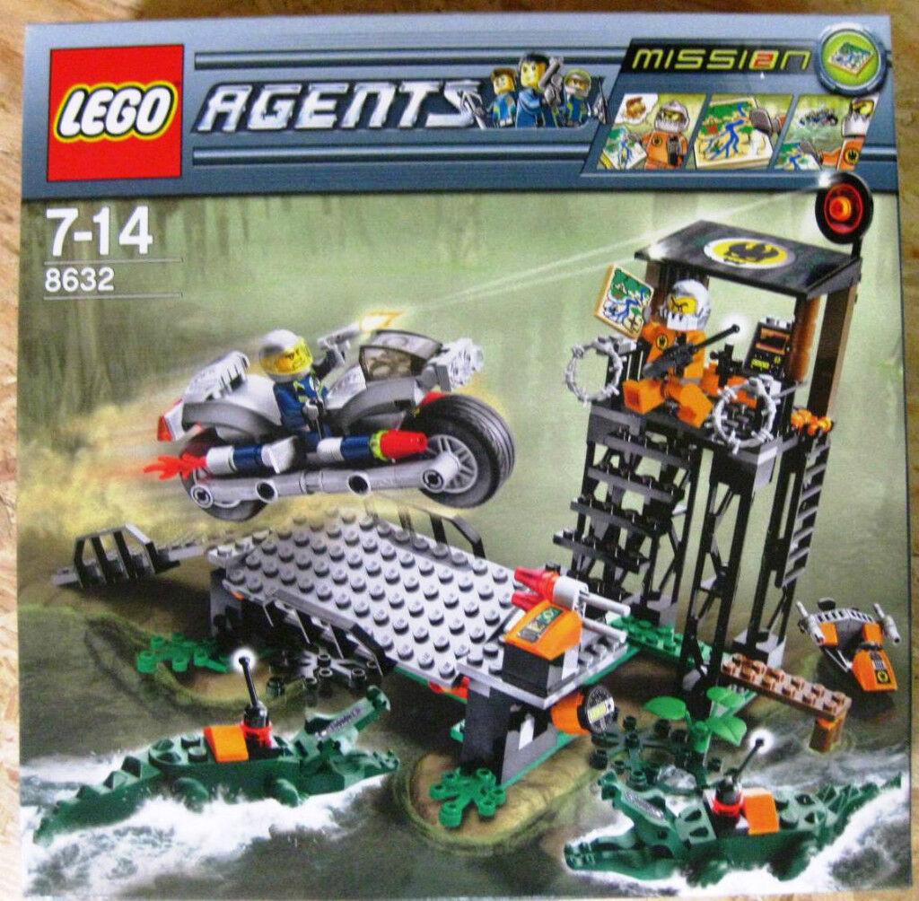 LEGO agents mission 2 chasse dans le Marais (8632) NEUF NEUF NEUF & OVP f2f126