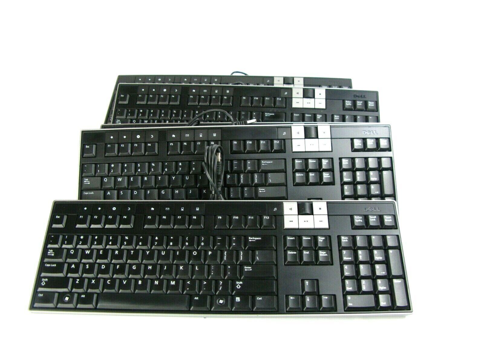 Dell Y-U0003-DEL5 U473D Enhanced Multimedia USB Keyboard 2 USB Ports (Lot of 5). Buy it now for 25.00