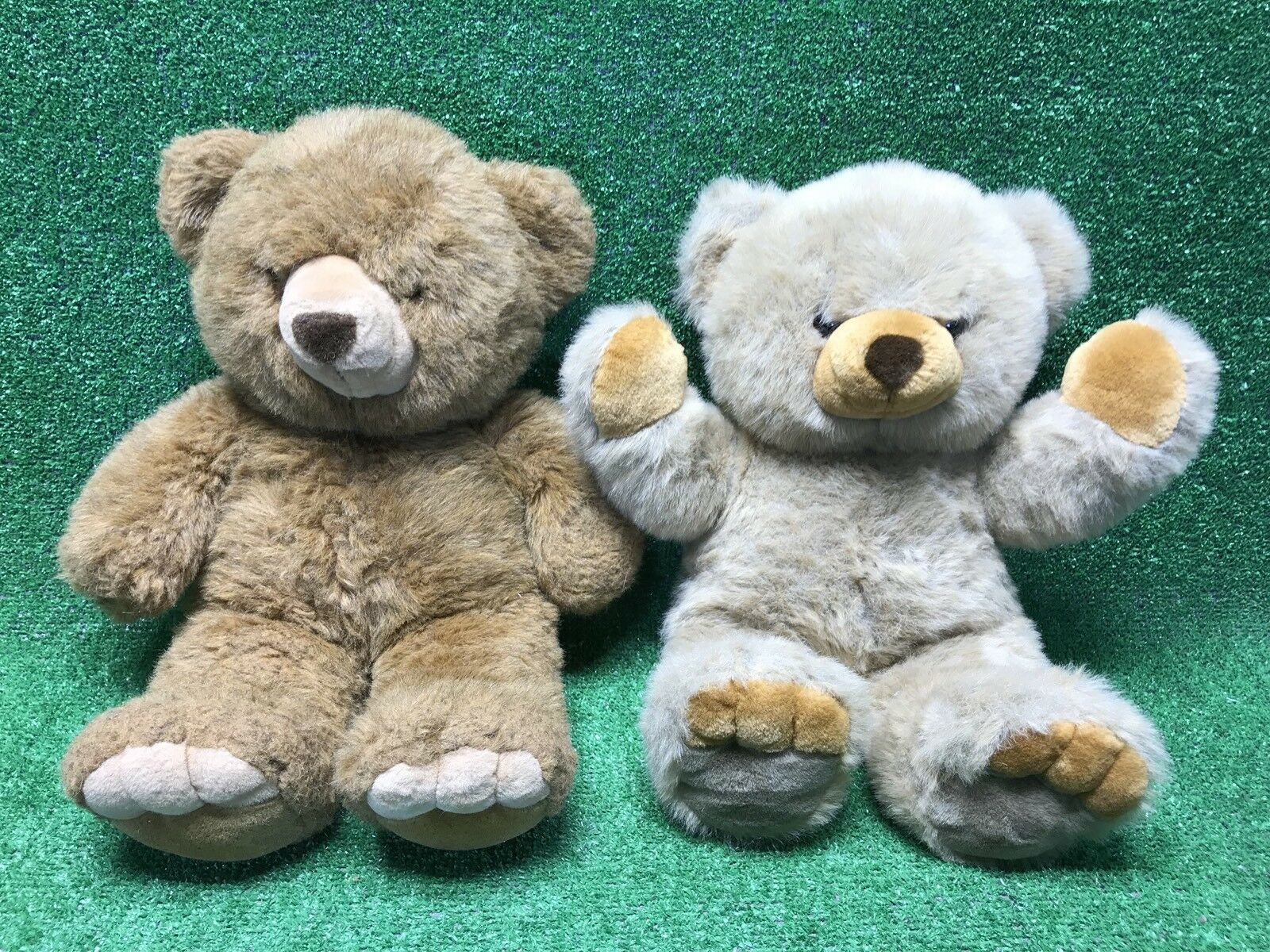 2 Rare VTG JC Penney 1994 Plush Jumbo 24  Brown Teddy Bear Collectible Large