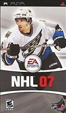 NHL 07 UMD PSP W/CASE SONY PLAYSTATION PORTABLE GAME HOCKEY 2K7 2007