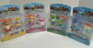 Disney Junior Muppet Babies Poseable Toys Set Of Four Kermit Piggy Summer Fozzie