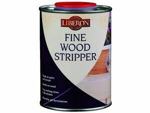 LIBERON-500ml-FINE-WOOD-STRIPPER-Strips-Paint-Varnish-French-Polish-Non-Drip-Gel