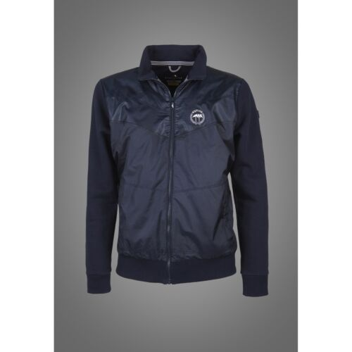 Equiline Mens Ridge Sweatshirt Navy Medium