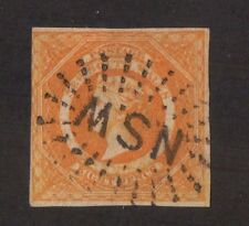 Kingscrossing -New South Wales Stamp #30a.  Imperf  Used Great Cancel CV $1600